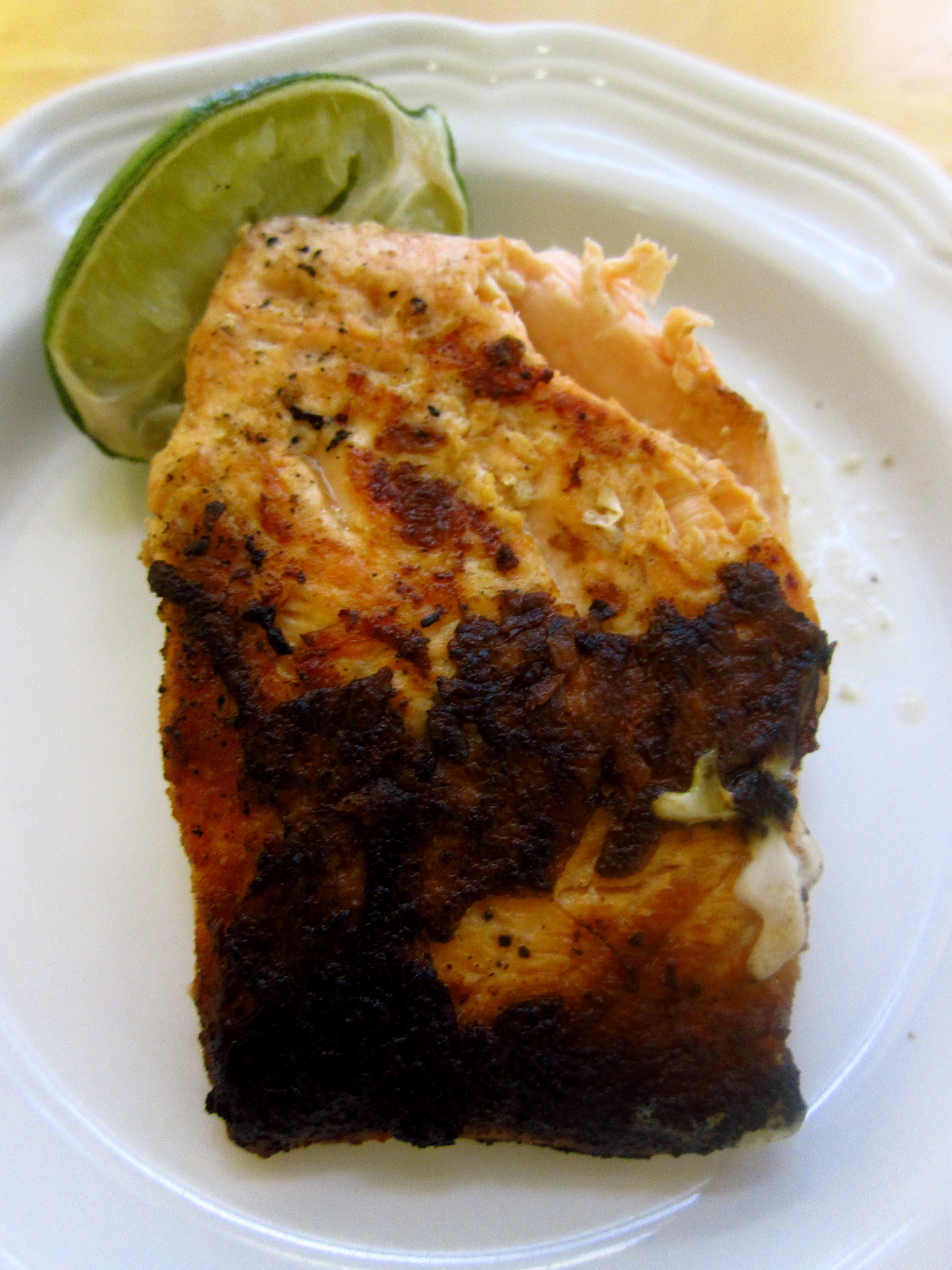 Grilled Salmon With Lime Butter Sauce Recipes Dishmaps